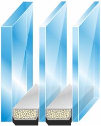Устройство шумоизоляционного стеклопакета